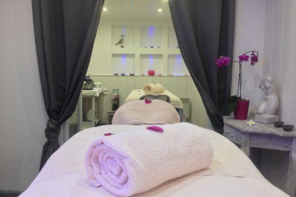 Cabine de massage en Duo - Institut Plaisir