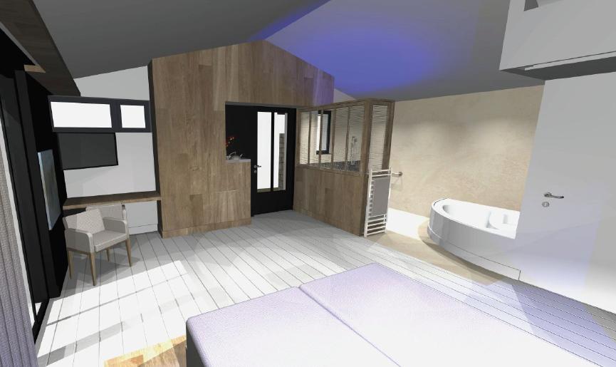 Suite Balnéo - Hôtel Ile de Ré