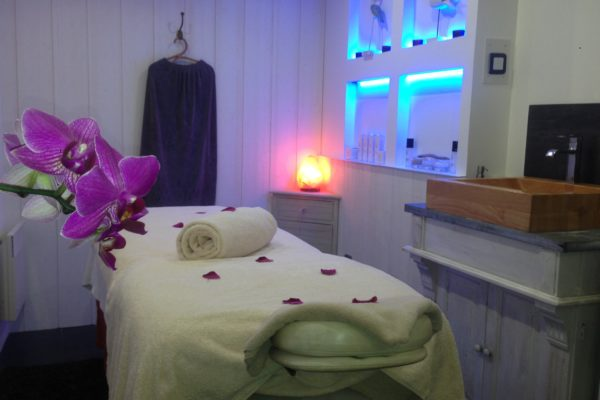 Cabine de massage - Institut Plaisir